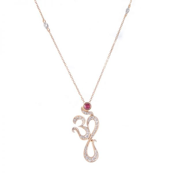 Blessing Aum necklace