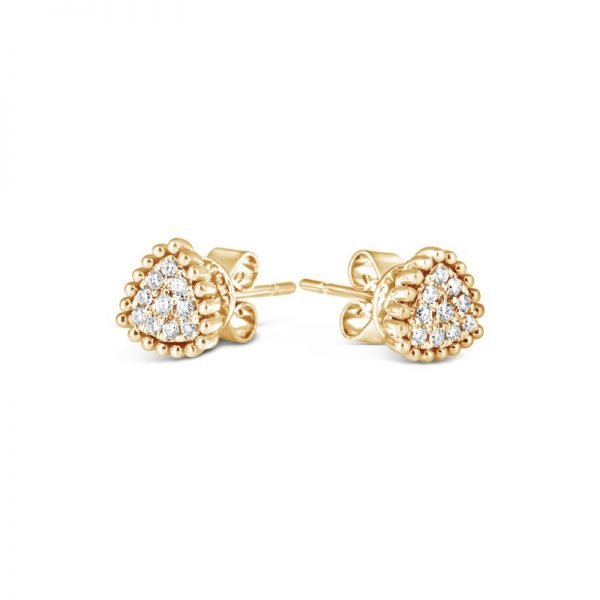 Bling Trillion Earring 18K