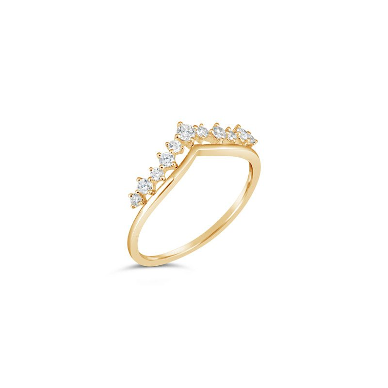 Queens Crown Ring 14K