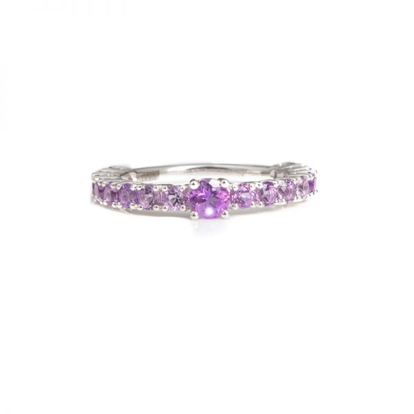 Gold | Amethyst | Pop Ring Online from Kajal Naina