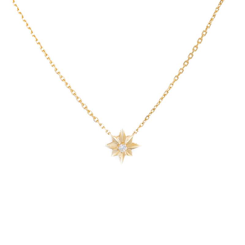 Shining Star Necklace 14K