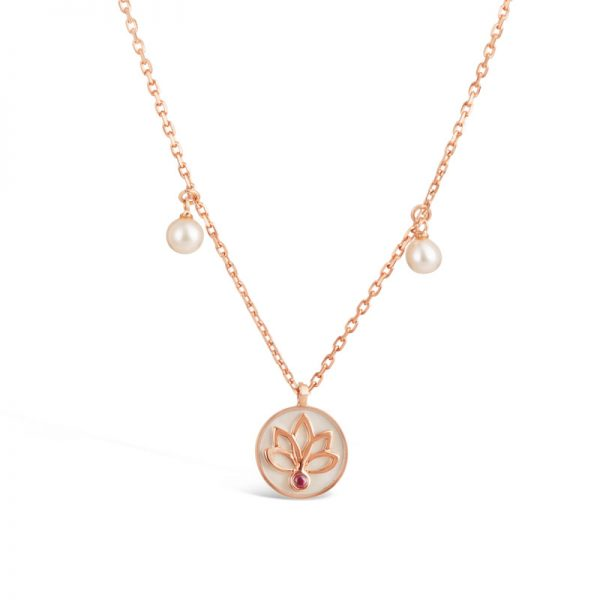 Divine Lotus Necklace