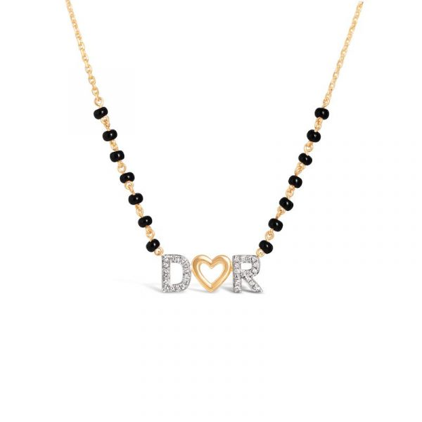 buy letters mangalsutra online